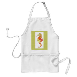 S is for Seahorse Standard Apron