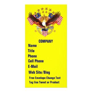 S. O. A 3 Business Photo Card