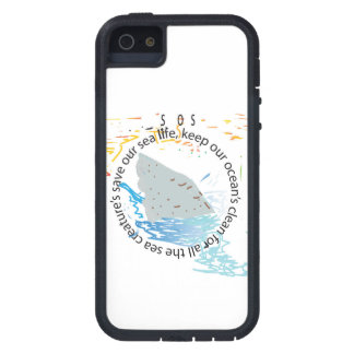 S.o.s: save our sea's iPhone 5 cover