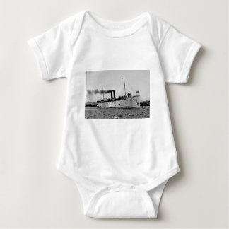 S.S. Eastland as photographed by Pesha Postcard Co Baby Bodysuit