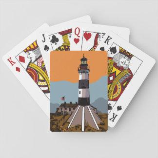 SABINE PASS LIGHTHOUSE PLAYING CARDS