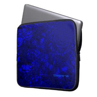 Sabrina blue Laptop sleeve