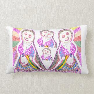 SABRINA  Dream Girl in Pink Lumbar Cushion