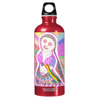 SABRINA  Dream Girl in Pink Water Bottle