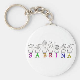 SABRINA KEY RING