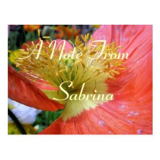 Sabrina Postcard