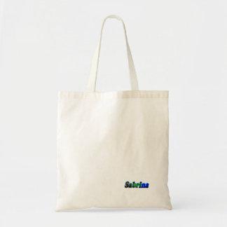 Sabrina's tote bag