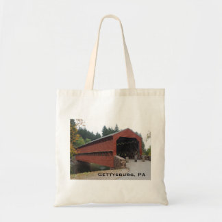 Sachs Covered Bridge near Gettysburg PA Tote Bag
