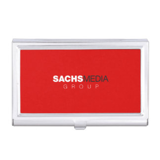 Sachs Media Group Business Card Holder