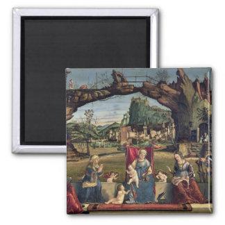 Sacra Conversazione, c.1500 (oil on panel) (for de Magnet