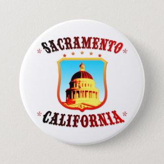 Sacramento California 7.5 Cm Round Badge