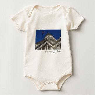Sacramento California Capitol Building Baby Bodysuit