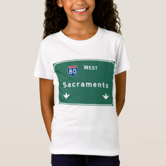 Sacramento California Interstate Highway Freeway : T-Shirt