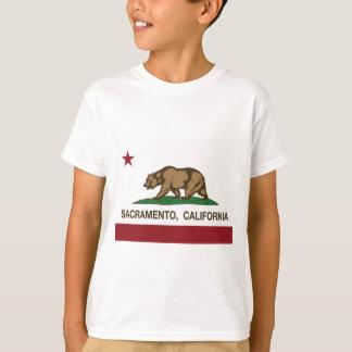 sacramento california state flag T-Shirt