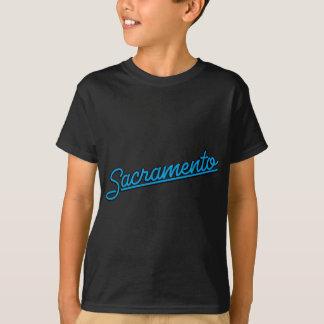 Sacramento in cyan T-Shirt