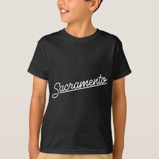 Sacramento in white T-Shirt