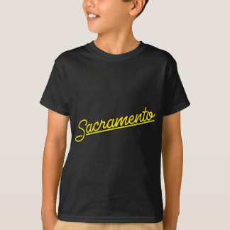 Sacramento in yellow T-Shirt