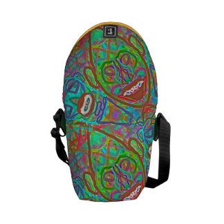 "Sacred Geometry ""Ryhthm"" Bag by MAR Courier Bag"