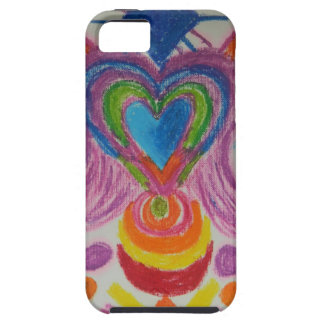 Sacred Heart Light Language iPhone 5 Cover