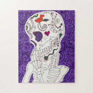 Sad Skeleton Jigsaw Puzzle