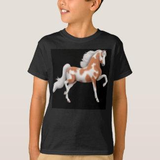 Saddlebred Paint Horse Kids Dark T-Shirt