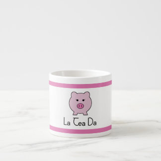 Sadie the Pink Pig   Tea Set Cup Espresso Mug