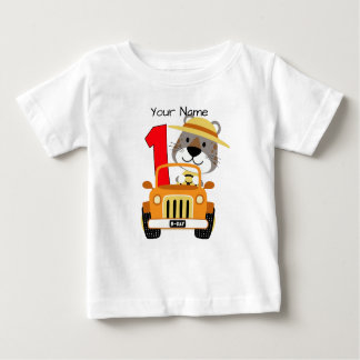 Safari 1st Birthday Baby T-Shirt