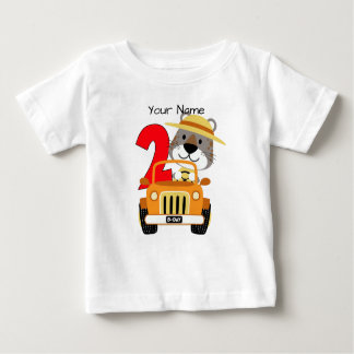 Safari 2nd Birthday Baby T-Shirt