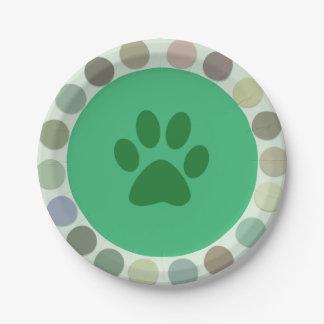 Safari baby party plates