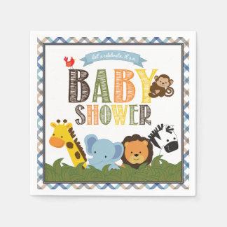 Safari Baby Shower Napkins Paper Napkins