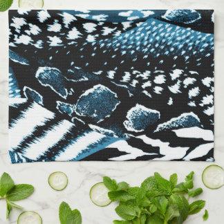 Safari Blue Tea Towel