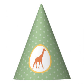 Safari Carousel Birthday Paper Party Hats