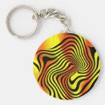 Safari Color Key Chain