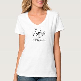 Safari is a  lifestyle white T-Shirt