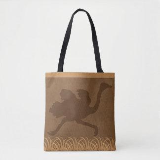 Safari   Jungle Theme   Ostrich Tote Bag
