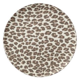 Safari Leopard Spots Plate