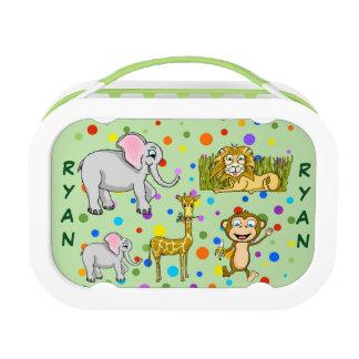 Safari Lunch Box Set