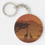 Safari park keychains