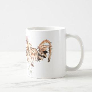 Safari Rooster Lion Mugs