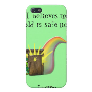Safe Leprechauns Gold iPhone 5 Covers