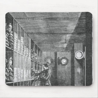Safes at the Bank of France in Paris, 1897 Mouse Pad