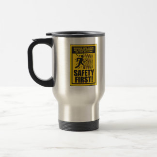 SAFETY FIRST! (Cloning & Temporal Research) Travel Travel Mug