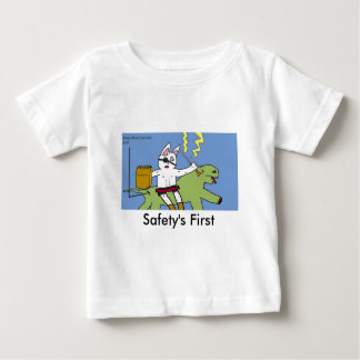 Safety's First Baby T-Shirt
