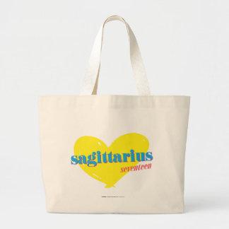 Sagittarius 3 large tote bag