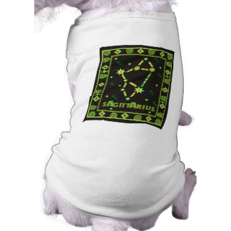 Sagittarius Constellation Sleeveless Dog Shirt