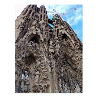 Sagrada Familia, Nativity Façade - Barcelona Photo Postcard