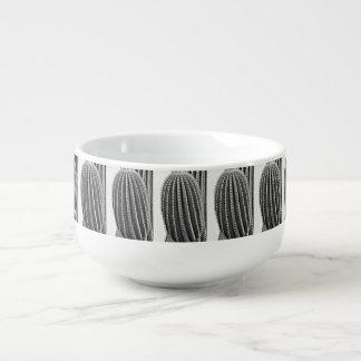 Saguaro Arm in B&W Soup Mug