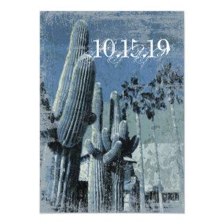 Saguaro Cactus Palm Trees Arizona Wedding Invites