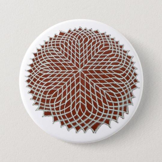 Sahasradala - The Crown Chakra 7.5 Cm Round Badge