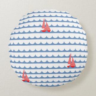 Sail Away boat pillow